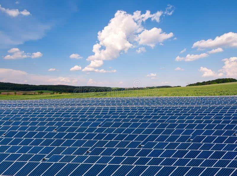 Download Solar farm stock image. Image of electric, cloudscape - 26910091