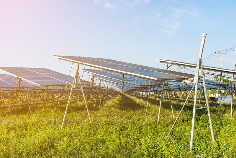 Solar-fram lizenzfreies stockfoto