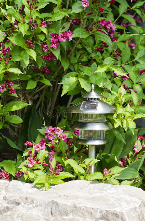 Download Solar Garden Lamp #2 stock image. Image of cell, equipment - 25016599