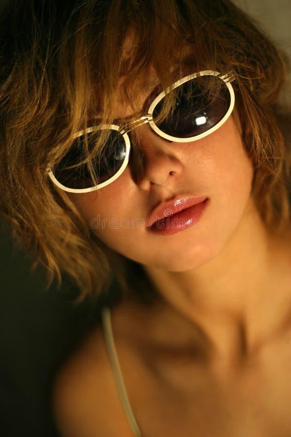 Solar glasses stock photo