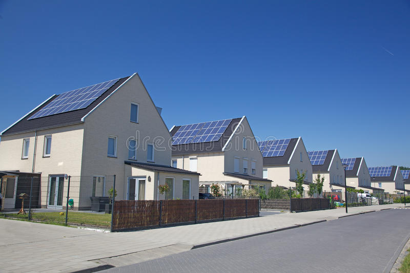 Download Solar House stock image. Image of ecological, generation - 25106957