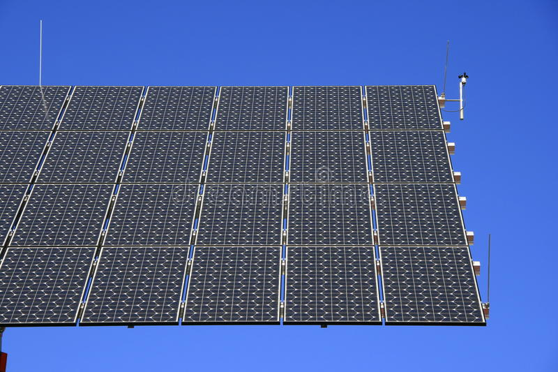 Download Solar installation stock image. Image of electricity - 15327261