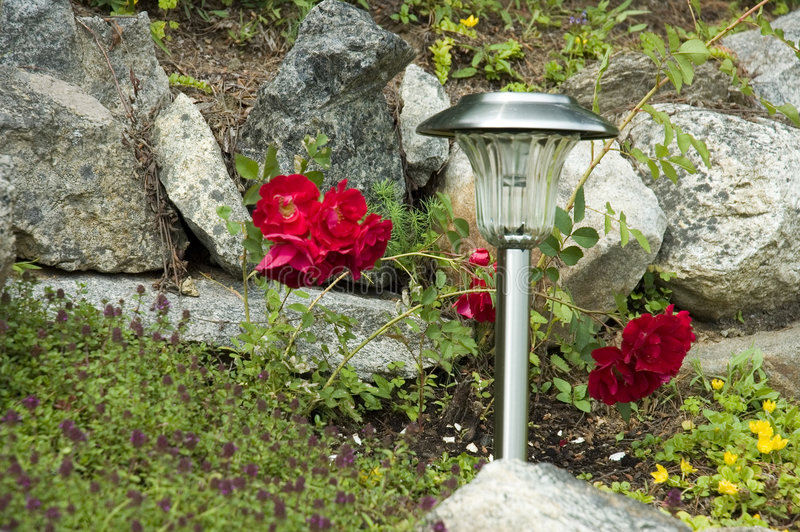 Download Solar lamp stock image. Image of power, harmony, supports - 970173