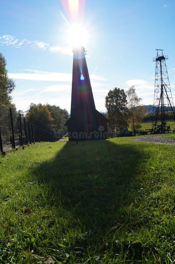 solar lantern royalty free stock photo