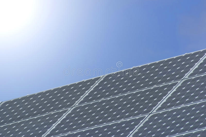 Download Solar panel stock photo. Image of electricity, panel - 10236386