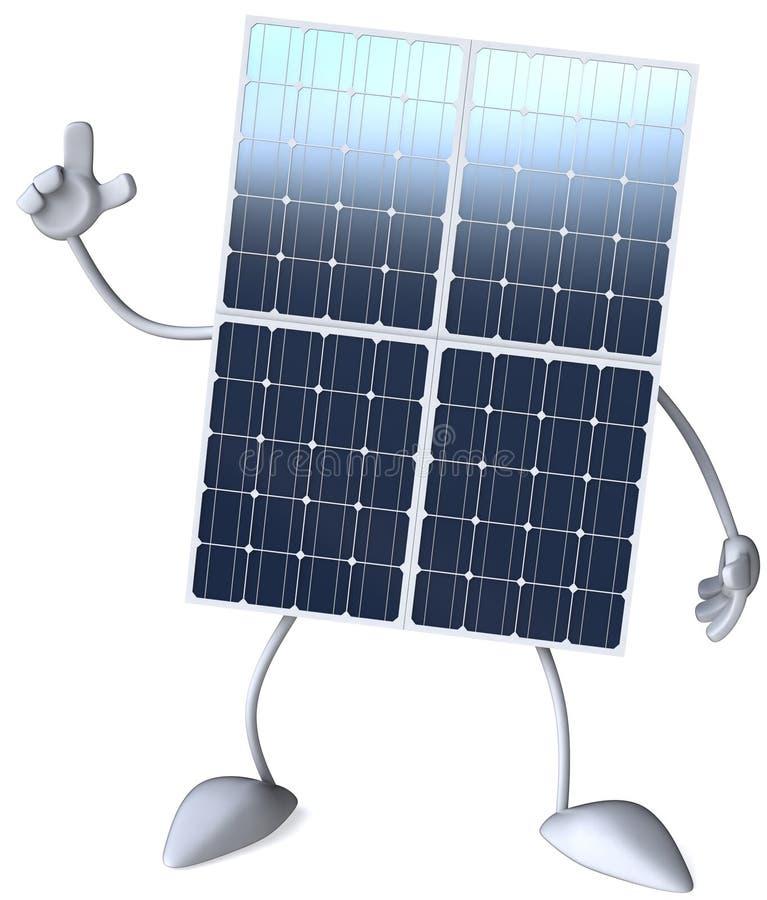 Download Solar panel stock illustration. Image of pattern, emission - 16823746