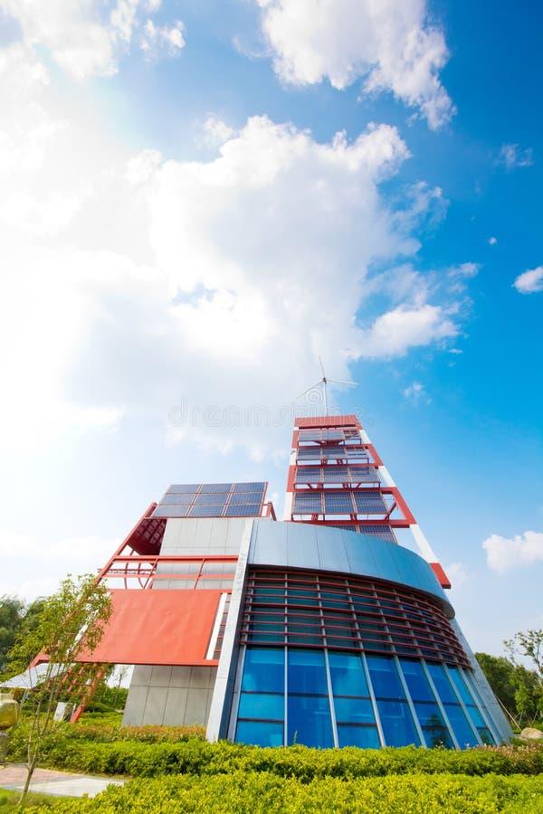 Solar panel. Energy, sun power, photovoltaic industry royalty free stock photos