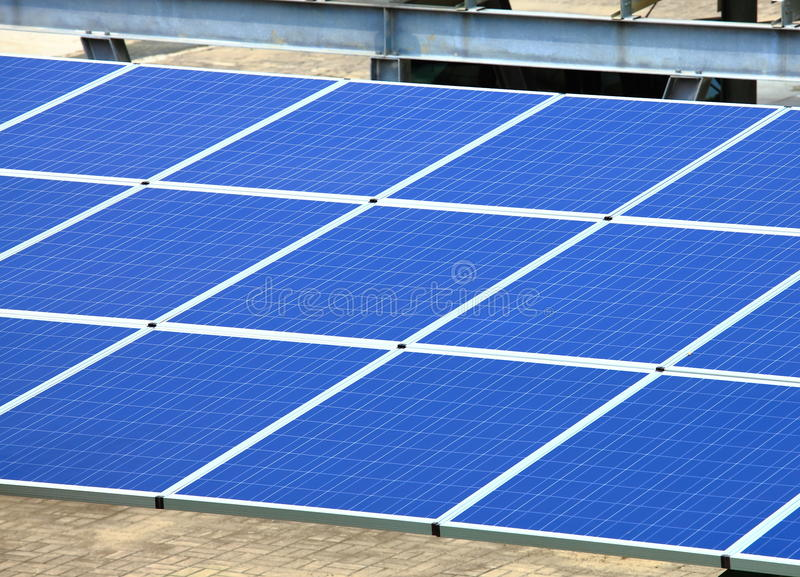 Download Solar Panel stock image. Image of photocell, green, battery - 21663859