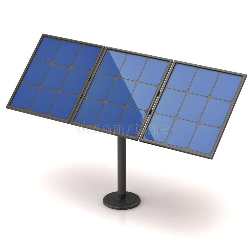 Download Solar panel stock illustration. Image of background, component - 24670683