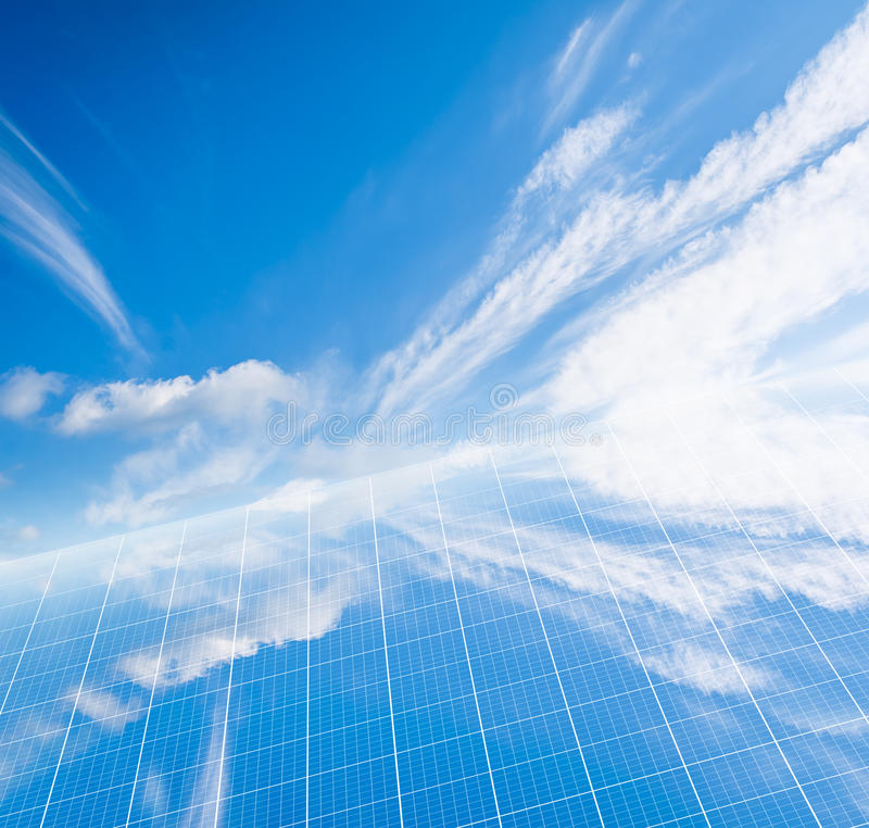 Download Solar panel stock illustration. Image of cell, electricity - 24783486
