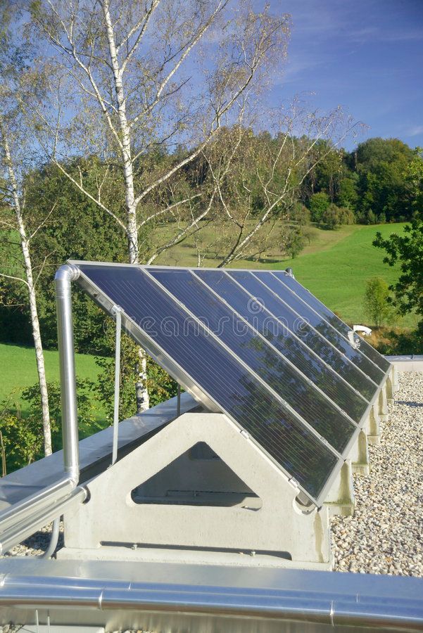 Download Solar panel stock image. Image of clean, roof, arch, friendly - 3425079