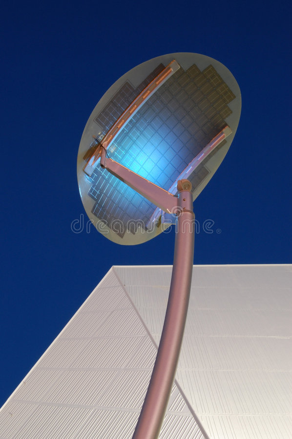 Download Solar Panel stock photo. Image of outside, night, shaped - 3469132