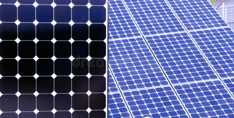 Solar panel background royalty free stock photography