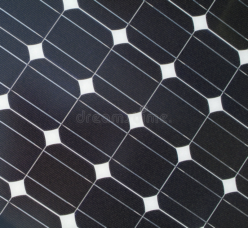 Solar Panel Efficiency Background stock images