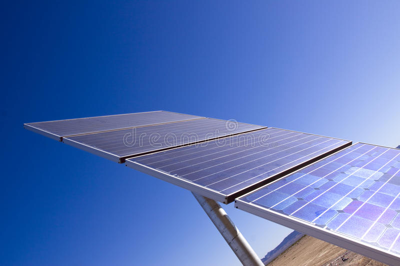 Download Solar Panel For Clean Energy Royalty Free Stock Photos - Image: 13370008