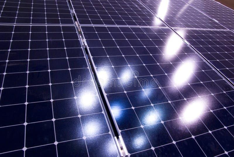 solar panel energy royalty free stock photos