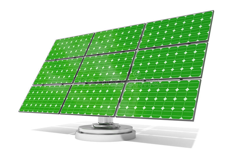 Download Solar panel green stock illustration. Image of isolated - 15977027