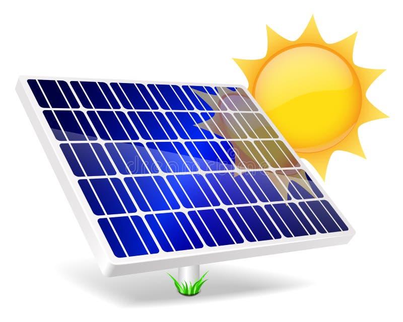 Solar Panel Icon Stock Photo Image 33151080