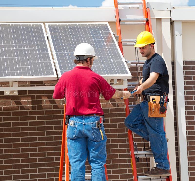 Download Solar Panel Installation stock image. Image of equipment - 9349625