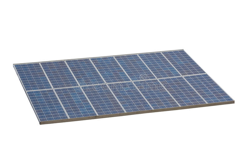 Download Solar Panel , Isolted , White Background Stock Photo - Image: 13715610