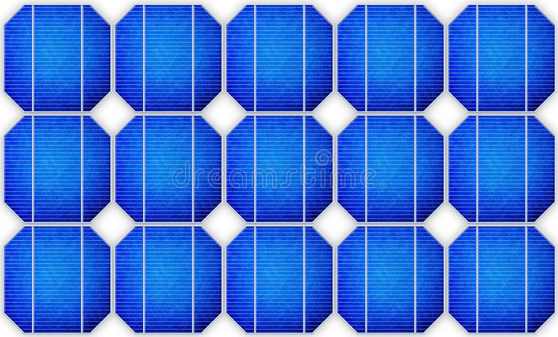 Download Solar panel stock illustration. Illustration of reflection - 42582890