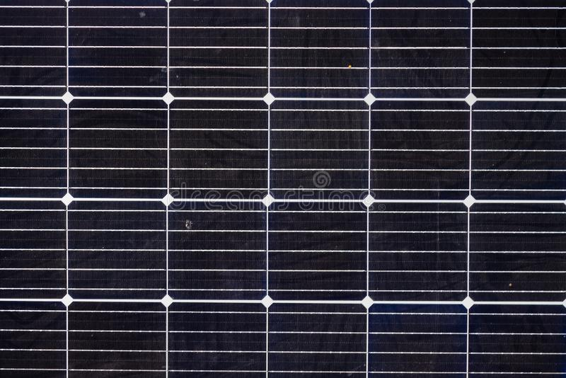 Solar panel, photovoltaic as background stock photo