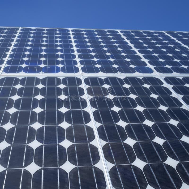 Solar Panel Photovoltaic Cells Square Stock Photo Image