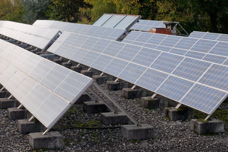 Solar Panel - Photovoltaic stock photo