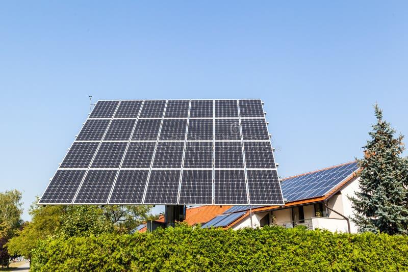 Solar panel. Shot of solar panel - close up royalty free stock photography