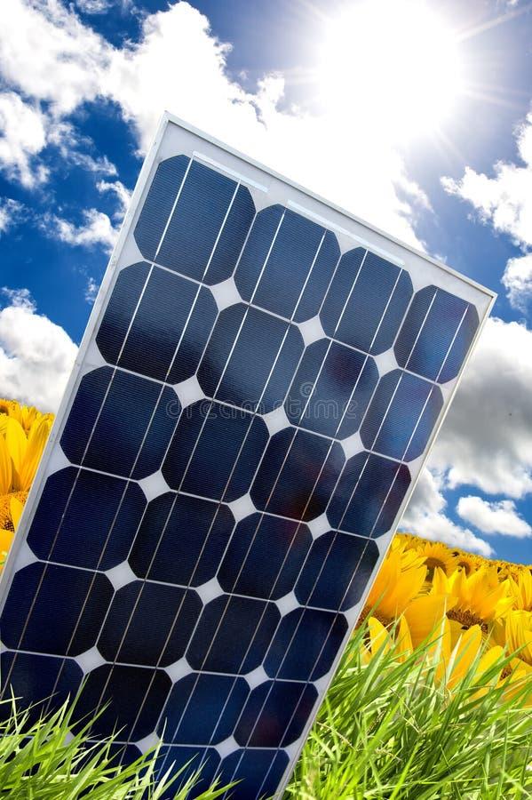 Solar panel and sunray
