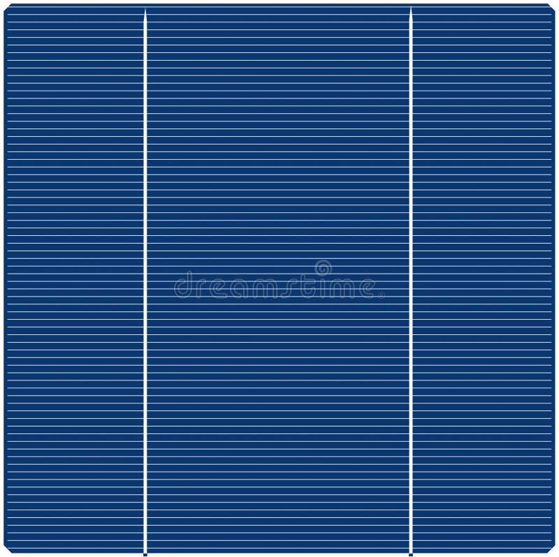 Solar Panel Texture Royalty Free Stock Photos