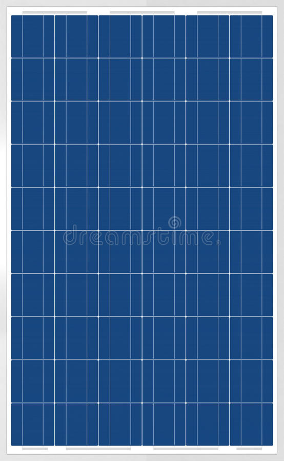 Solar Panel Texture Stock Illustration Image Of