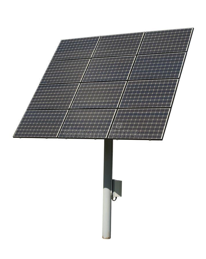 Solar Panel Tiles Isolated, Panels Green Energy