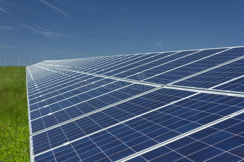 Solar Panels 1 stock photography