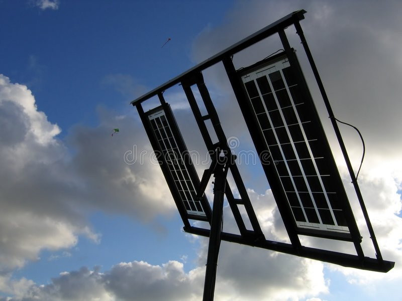 Download Solar Panels stock photo. Image of azure, wire, clean, rectangle - 170086