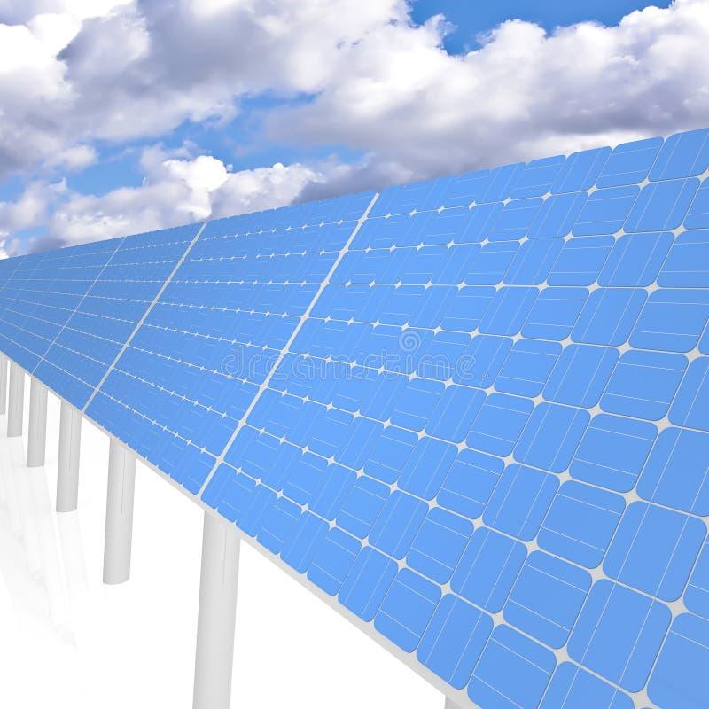 Download Solar panels stock illustration. Image of economy, isolated - 18352803