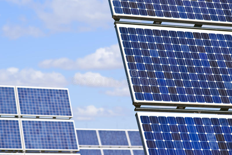 Download Solar panels stock photo. Image of fuel, clean, glass - 22661326