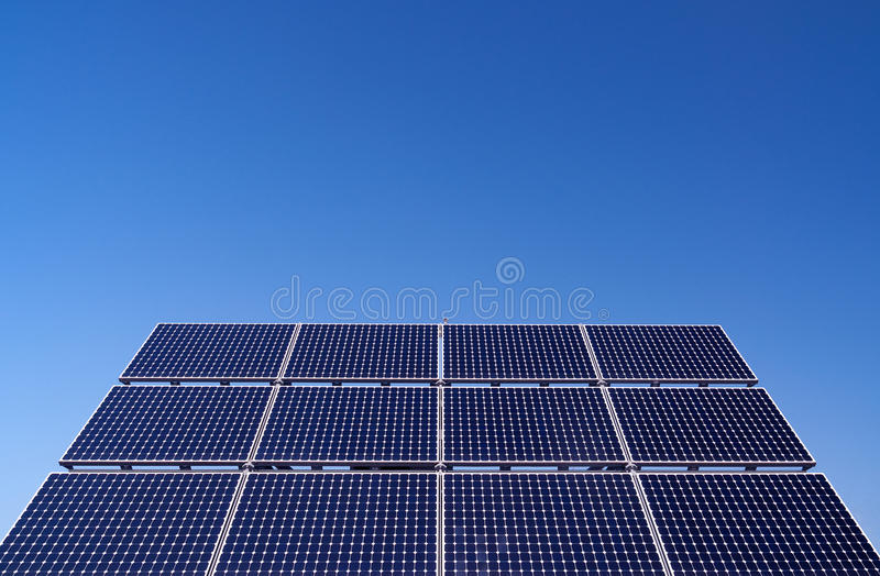 Download Solar Panels stock photo. Image of panel, cloud, electrical - 23330792
