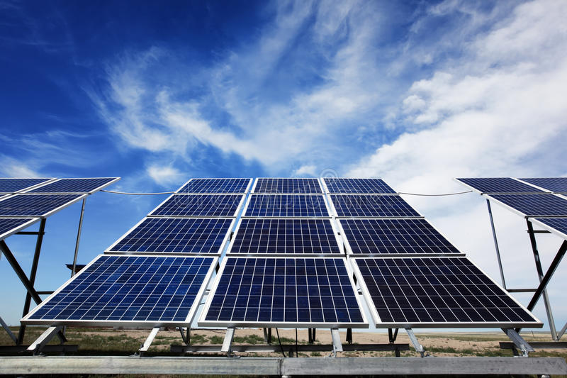 Download Solar Panels stock photo. Image of panels, alternative - 25677112