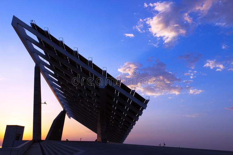Download Solar panels stock image. Image of electricity, battery - 28037637