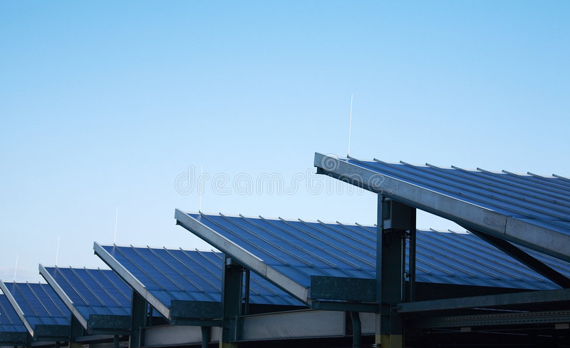 Download Solar panels stock image. Image of ecologically, electricity - 6645941