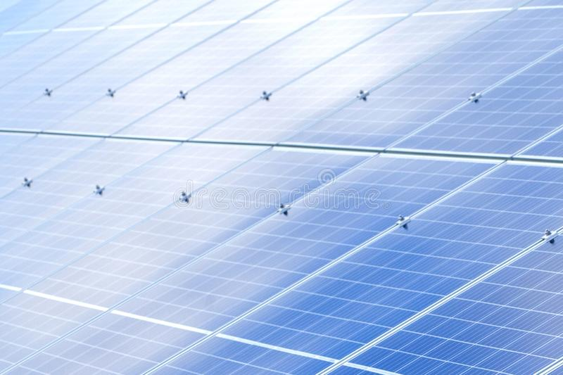 Solar panels background. Photovoltaic renewable energy source.  stock photos