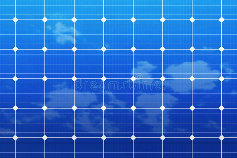 Solar panels. Close up of solar panels, energy, blue, green, sun, sky, power, renewable, technology, environment, ecology, sunlight, clean, cell, alternative royalty free stock images