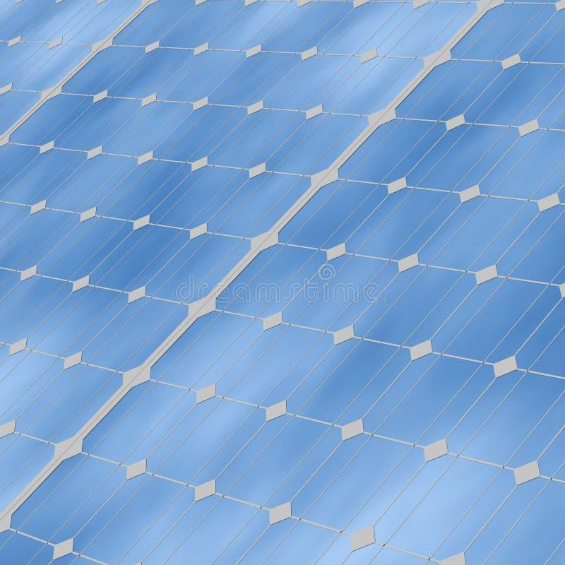 Download Solar panels close up stock illustration. Image of render - 8859786