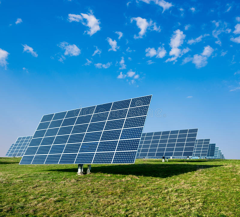Download Solar panels stock image. Image of innovative, photovoltaic - 32214141
