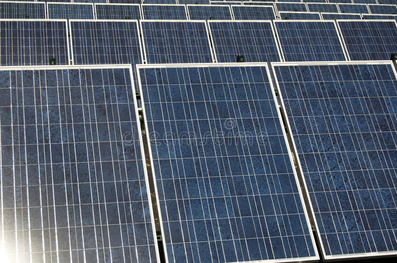 Download Solar Panels stock photo. Image of wattage, generating - 31927340