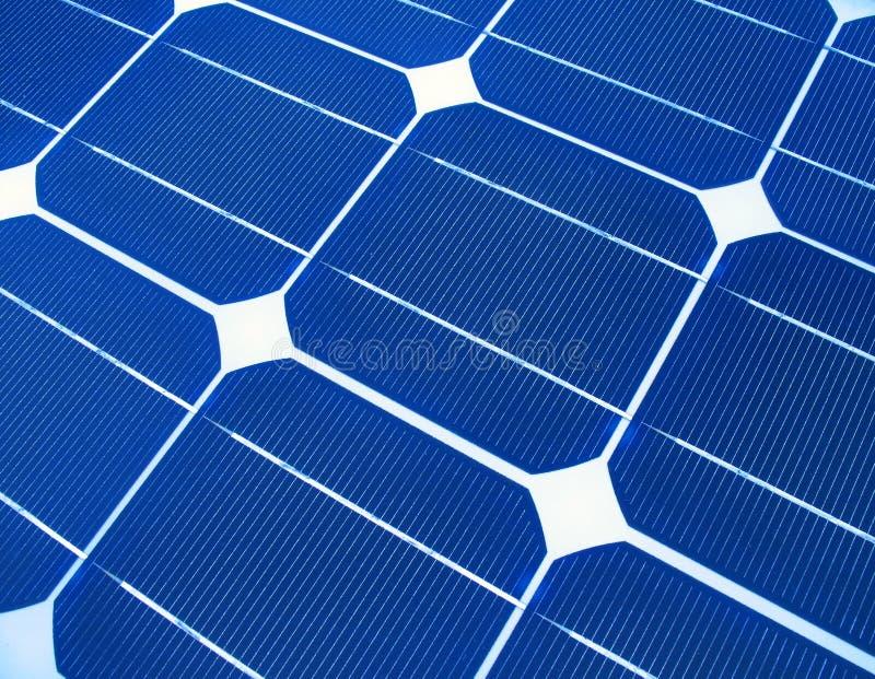 Solar Panels Macro royalty free stock image