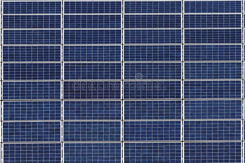 Solar panels for the production of electrical energy from solar energy. Environmentally friendly energy resource. Silicon cells. Photovoltaic cells. Tools stock photography