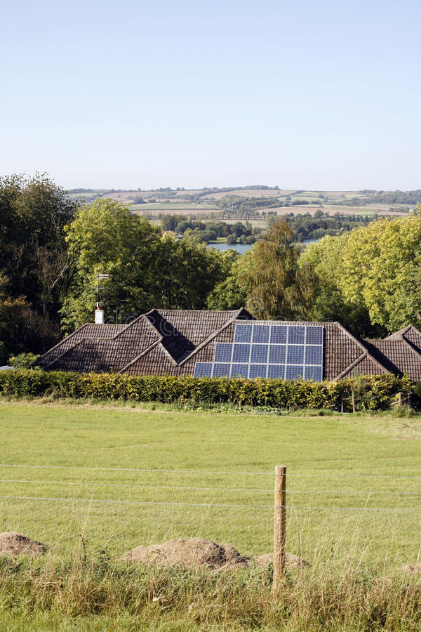 Download Solar panels on the roof stock photo. Image of cheap - 23001700