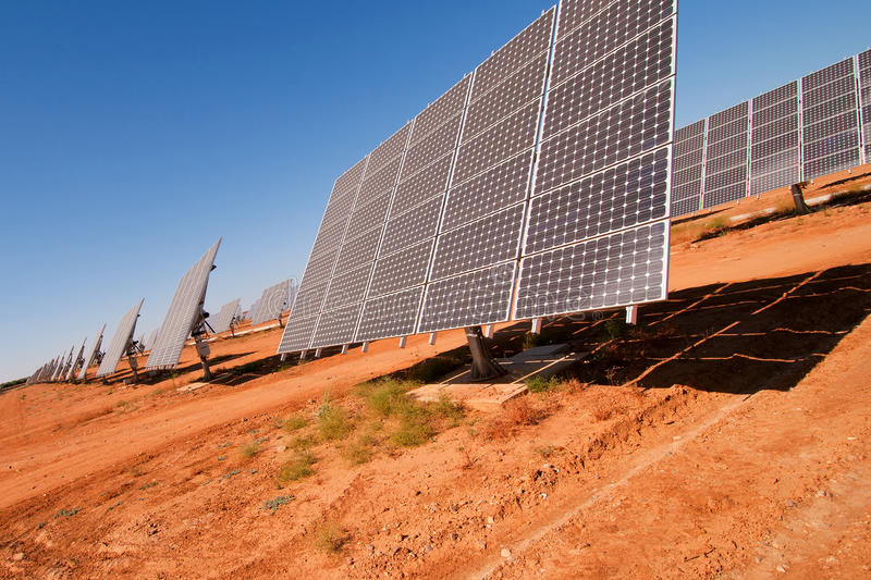 Download Solar Panels, Spain Stock Photography - Image: 10643432